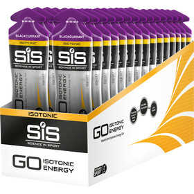 SiS GO Isotonic Energy Gel Box 30x60ml Blackcurrant